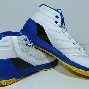 New Under Armour Curry 3 Dub Nation Home Shoes